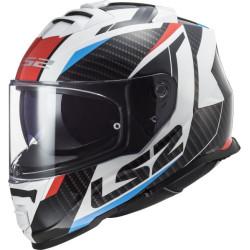 LS2 FF800 Storm Racer rouge-bleu L