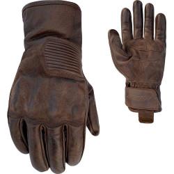 RST gants cuir Crosby brun 9/M