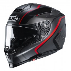 HJC R-PHA 70 Kroon MC-1SF noir-rouge XS