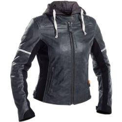 Richa veste cuir Toulon II dame grey 34