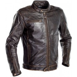Richa veste cuir Normandie brun 60