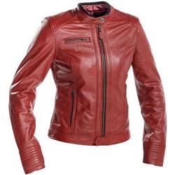 Richa veste cuir dame Scarlett rouge 36