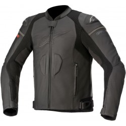 Alpinestars veste cuir GP Plus R V3 Rideknit noir 50