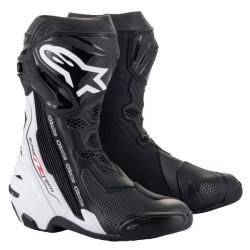 Alpinestars Supertech R V2 noir-blanc 45