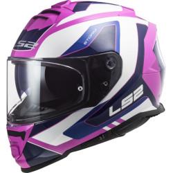 LS2 FF800 Storm Techy blanc-pink XS