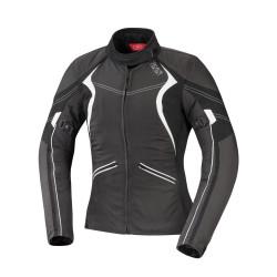 IXS veste dame Eileen argent-noir-blanche XL