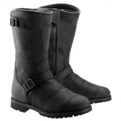 Belstaff bottes cuir Endurance noir 43
