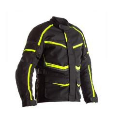 RST Maverick veste noir/jaune fluo L