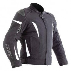 RST Veste textile GT noir-blanc M