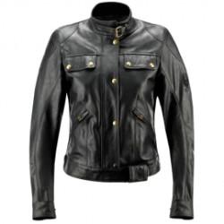 Belstaff veste cuir Darley noir 40 (correspond à la taille 36 Suisse)