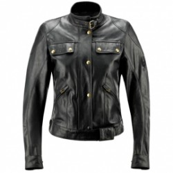 Belstaff veste cuir Darley noir 44