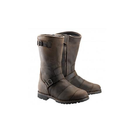 Belstaff bottes cuir Endurance brun 45