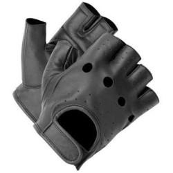 gants sans doigts Chopper noir 8