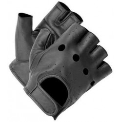 gants sans doigts Chopper noir 9