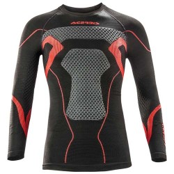Acerbis Undergear jersey X-Body Winter noir-rouge S/M
