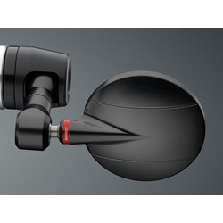 Rétroviseur Rizoma SPY R 80 noir homologué