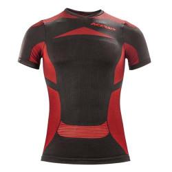 Acerbis Undergear shirt X-Body été noir-rouge L/XL