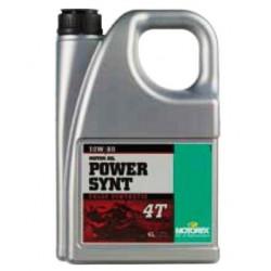Huile Motorex Power Synt 4T 10W/50 4 L