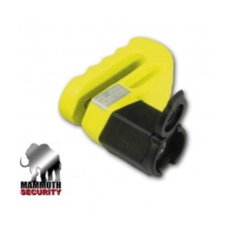 Antivol Bike it bloque-disque de freins Mammouth jaune