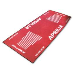 Tapis de moto Aprilia rouge