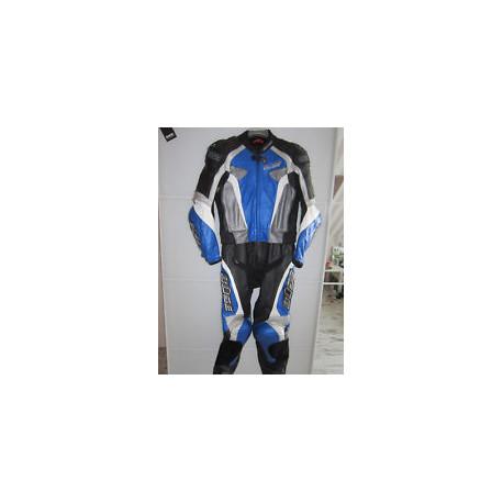Combinaison Büse cuir Imola bleu 56