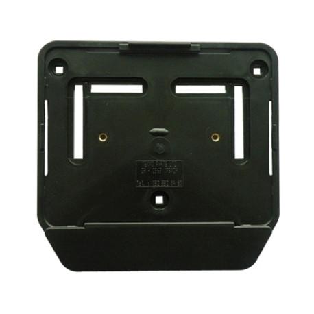 Support de plaque noir en plastique - chez aplusmoto SA - 027 322 0... fe60dba995b