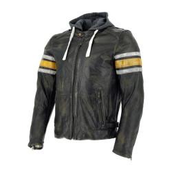Richa veste cuir Toulon Jaune 52