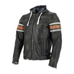 Richa veste cuir Toulon orange 52