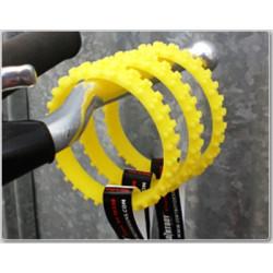 Bracelet Dirtboy Armband MX 196mm jaune