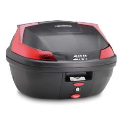 Top Case Givi  B37 Blade Monolock noir mat  Capacité: 37 litres Dimensions: 495 x 330 x 440mm