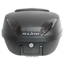 S-Line Top-case 42L noir mat-carbone