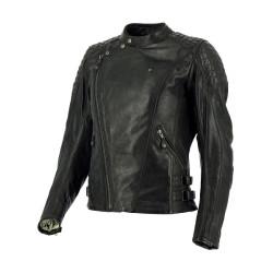 Richa veste cuir dame Chanelle noir 42