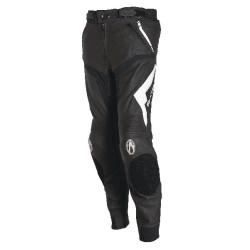 Pantalon cuir Richa Mugello Trouser noir/blanc 56