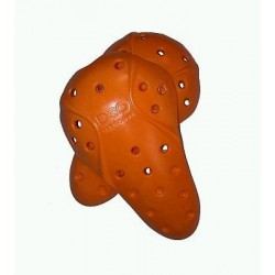 Protections genoux D3O orange