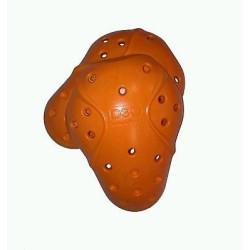 Protections épaules D3O orange (1 paire)