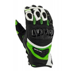 Gants Richa racing Stealth vert L