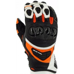 Gants Richa racing Stealth orange S