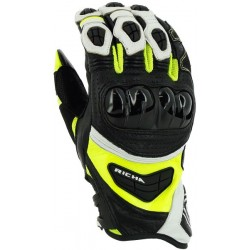 Gants Richa racing Stealth jaune fluo L