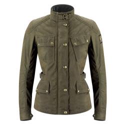 Belstaff veste Phillis dame military green 46 (correspond à la taille 42 Suisse)