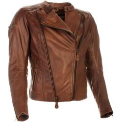 Richa veste cuir lady Roxette brune 38