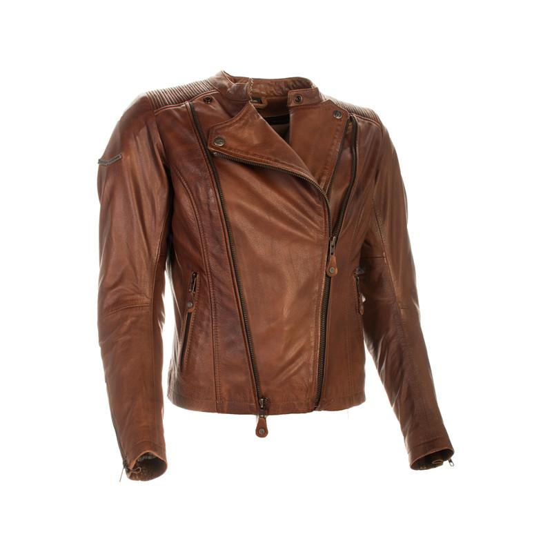 Richa veste cuir lady Roxette brune 40 - aplusmoto 9aaf1e34e09