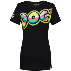 VR46 T-Shirt Doc dame 307304 noir L