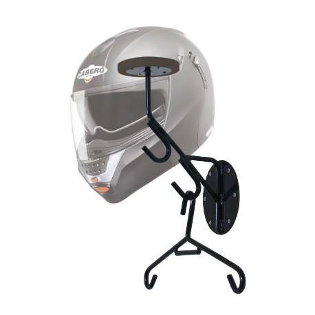 Suport pour casque et combi avec protection