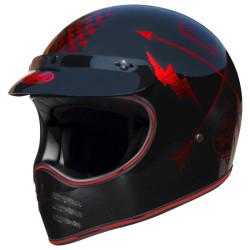 PREMIER MX NX noir-rouge chrome L