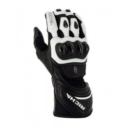 Gants Richa racing Fighter blanc 3XL