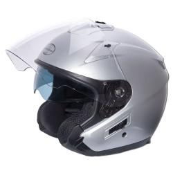 M11 casque Jet Easy argent mat S