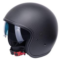 M11 casque Jet Vintage carbon L