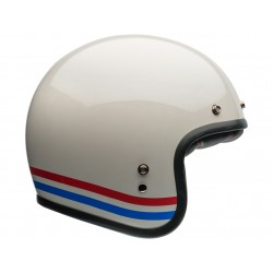 Bell casque Custom 500 Stripes Pearl White S
