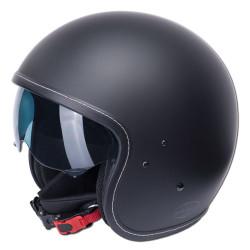 M11 casque Jet Vintage noir mat L