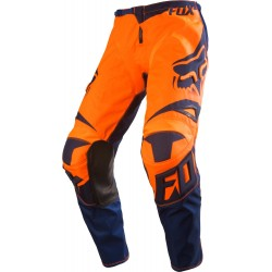 Fox Pants cross 180 Race orange-bleu 32